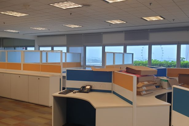 Beach road office for rent
