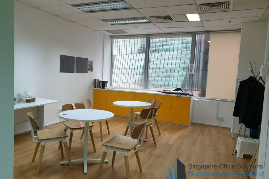 Raffles Place office for Rent