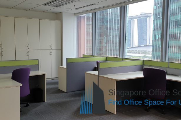 6 Raffles Quay office for rent