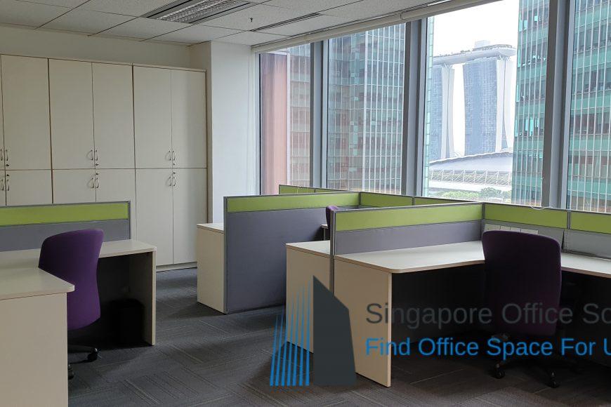 6 Raffles Quay office for rent